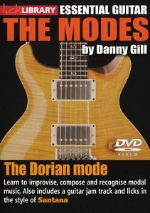 LICK-LIBRARY-The-DORIAN-MODES-Learn-to-Play-Carlos-Santana-Scale-Rock-GUITAR-DVD