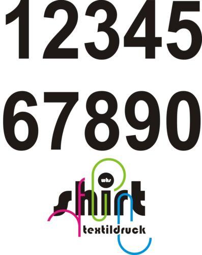 A 405 Zahl Ziffer Nummer Aufkleber Briefkasten Lampe Haustür Tür Mülleimer