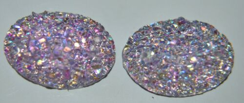 2  DEMI PERLE STRASS CHARMS EMBELLISSEMENT REF C 506 CARTERIE DECORATION