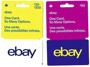 gift cards EBAY auction collectible no value
