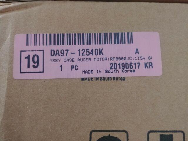 DA97-12540K Brand New Samsung Ice auger motor Assy  DA97-12540D