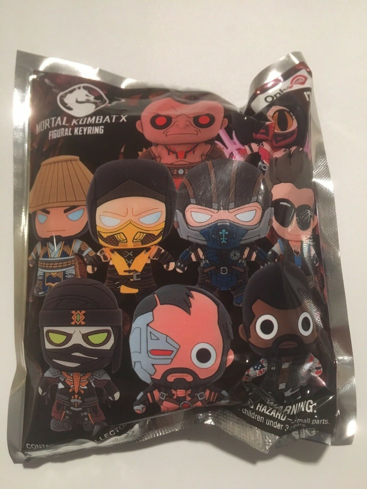 (10) Mortal Kombat X 3D Figural Figural Figural Keyring Action Figures Lot Unopened NEW Gamestop d3f175