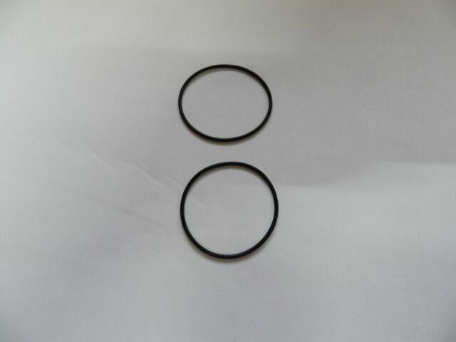 2 SQUARE BELT FOR Tape CD etc 39 x 1,2 mm