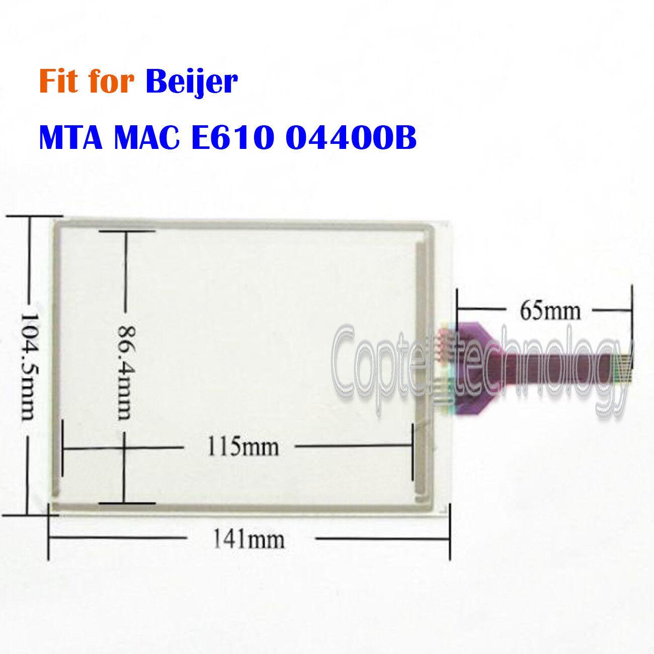 Touch Screen Glass for Beijer MTA MAC E610 04400B Screen Panel One Year Warranty