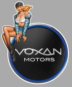 VOXAN-left-Pin-Up-gauche-Sticker-vinyle-lamine