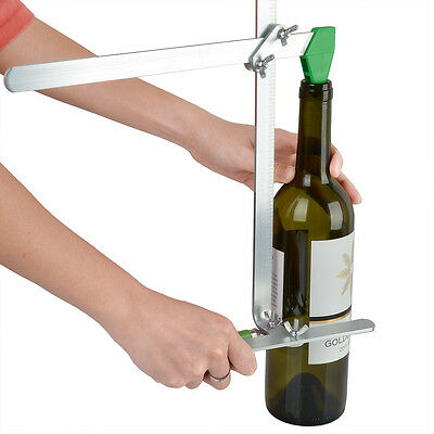 Glass Bottle Cutter Tool Stained Glass Recycles Bottles Jar w/6 Cutting Blades