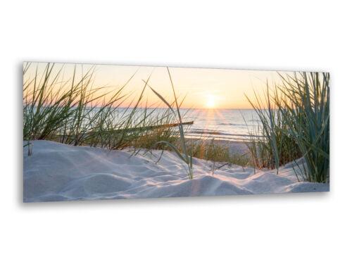 Cuadros de cristal imágenes de pared 125 x 50cm playa en Rügen ag312502870