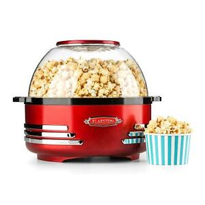 Machine-Popcorn-Maker-Appareil-Teflon-Chauffage-Melangeur-Integre-Antiadhesif