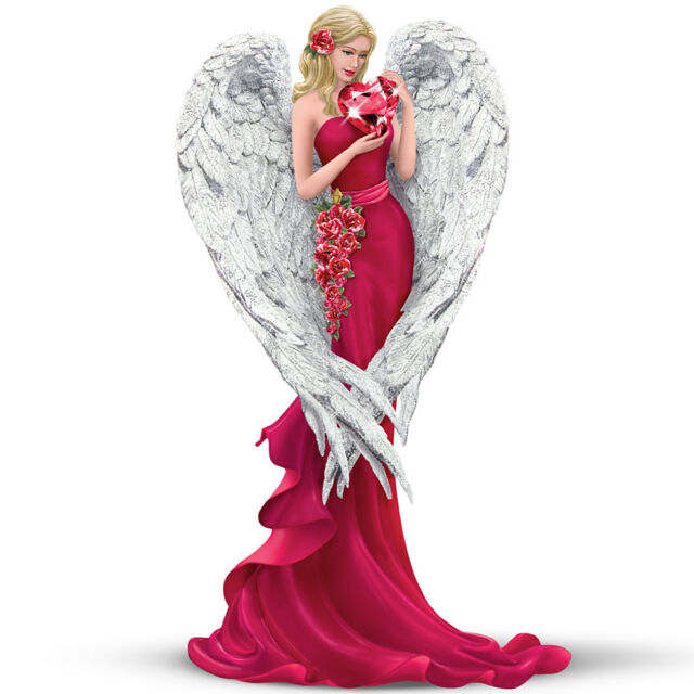 Thomas Kinkade Heart Of Love Angel Figurine