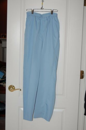 women's pants JANTZEN 14 light blue polyester  ray