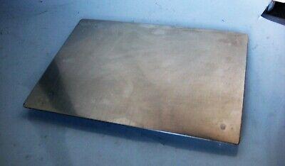 Bäckereiausstattung Herzhaft Serviertablett Edelstahl 24 X 32 Cm Tablett Kuchenplatte Servierplatte NüTzlich FüR äTherisches Medulla