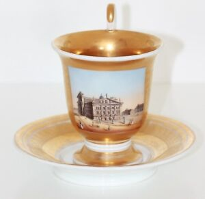 Details about KPM Berlin Porcelain Views/Collection Cup around 1820 Theater  Berlin