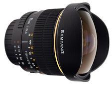 Samyang 8mm F/3.5 Ultra Wide Fisheye Lens for Sony Alpha a mount Digital SLR