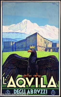 S Caterina del Italy Vintage European Travel Advertisement Poster Picture Print