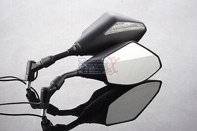 Honda PCX125 Mirrors Pair Black 10mm