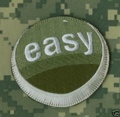 TRUNK MONKEY EASY BUTTON TALIBAN TERMINATOR ACU PATCH