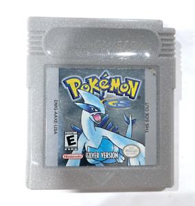 **ORIGINAL AUTHENTIC Pokemon Silver Version w/ New Save Battery Nintendo Gameboy