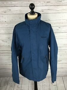TIMBERLAND-Weathergear-Jacket-Medium-Blue-Great-Condition