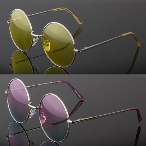 Large John Lennon style Sunglasses Round Retro vintage 60s 70s hippie glasses