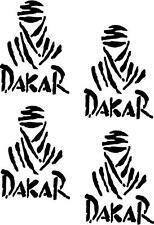 4 X Paris Dakar pegatinas, gráficos, Calcomanías Color Elección