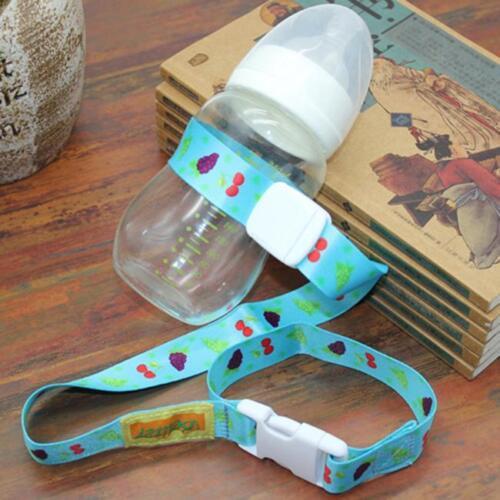 Baby Bottle Gobelet titulaire sangle laisse d/'attache pour Poussette Chaise Haute Voiture Al