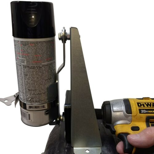 Shake Right SPRAY CAN PAINT SHAKER // Mixer Foam Bed Liner // Use Any Drill