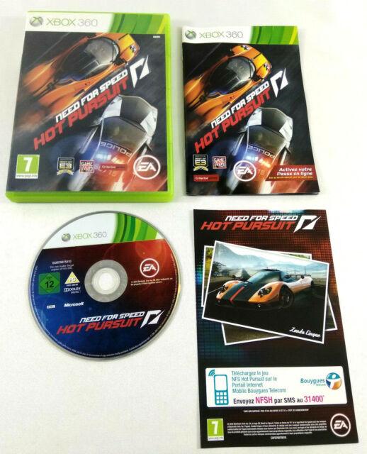 Jeu XBOX 360 VF  Need for Speed Hot Pursuit  avec notice  Envoi rapide et suivi