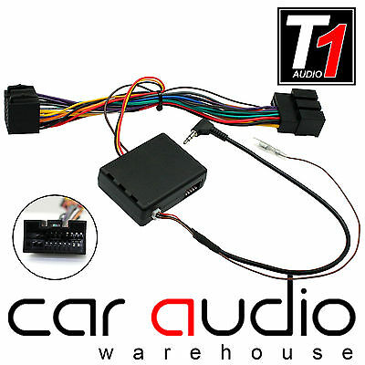 Connect your Steering Wheel stalk controls Jaguar X-Type car radio adapter lead