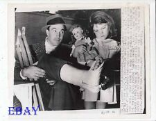 Gene Kelly w/daughter RARE Photo