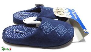 DE FONSECA TORINO W214 ciabatte pantofole donna modello olandese invernali calde