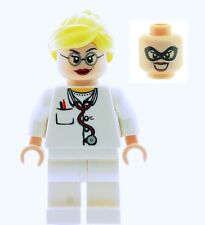 LEGO Batman DR HARLEEN QUINZEL Custom Nurse Doctor Minifig NEW