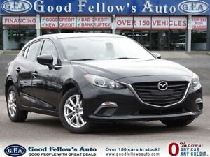 2016 Mazda 3 Sport GS SKYACTIV, REARVIEW CAM, HEATED SEATS, BLUETOOTH