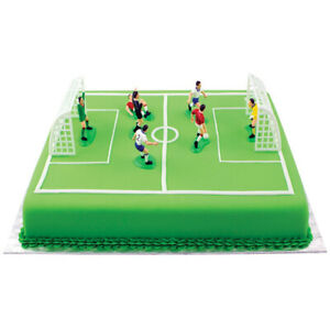 Brilliant Pme Soccer Football Cake Topper Decorations Birthday Cake Personalised Birthday Cards Paralily Jamesorg