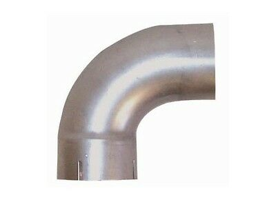 """5"""" ID/OD 90 Degree Exhaust Elbow Pipe - 10"""" Arms - 16 Ga Steel"""