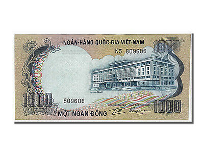 65-70 Unc Systematic Km #34a South Viet Nam K5809606 Providing Amenities For The People; Making Life Easier For The Population 1972 #107086 1000 Dng
