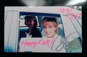 Princess Diana 60th Elton John Signed Blake LeVine Birthday Art Print Signed
