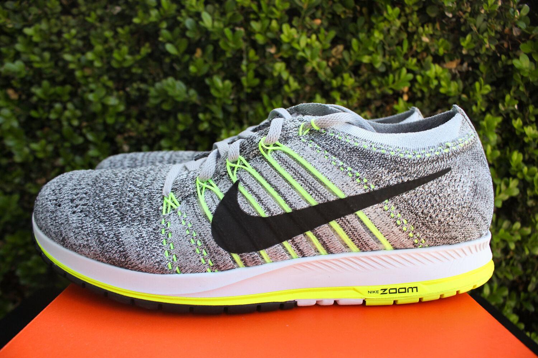 Nike zoom flyknit streak sz lupo grigio antracite 835994 007 10 nero