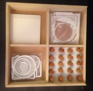 Image Is Loading Pottery Barn Shadow Box Or Sbook Kit Natural
