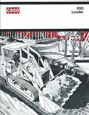 Equipment Brochure - Case - 850 - Crawler Loader - c1972 (E3399)