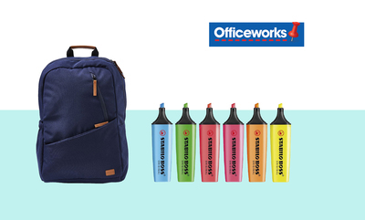 Back to School at Officeworks
