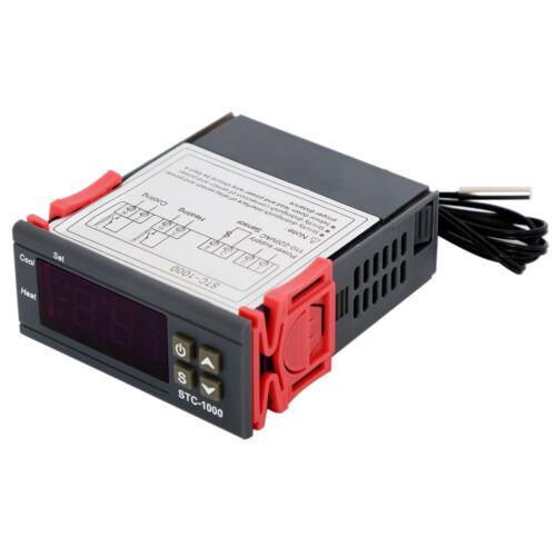 Universal STC-1000 Digital Temperature Controller Thermostat w// Sensor AC 110V