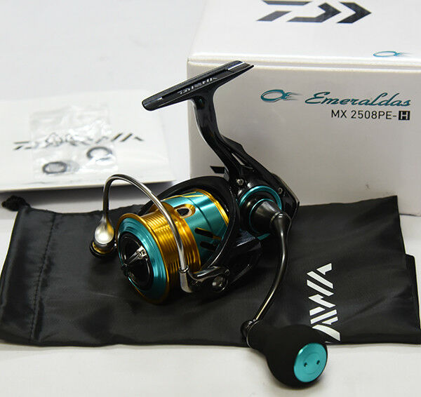 Daiwa 17 Emeraldas MX 2508PE-H MAG SEALED Spinning Reel
