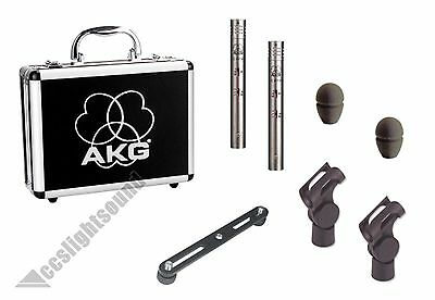 AKG C451B MATCHED-PAIR REFERENCE SMALL-DIAPHRAGM CONDENSER MICROPHONE STEREO-SET