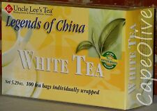 White Tea by Uncle Lee's Tea, Legends of China - 100 Tea Bags