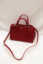 NWT COACH Nolita Pebbled Leather Mini Satchel #33735 Cyclamen