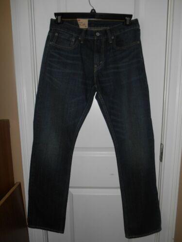 des Longueur Levis Fit Hommes avec Nouveau 514 Bleu Jeans Slim 32 Taille Straight étiquettes Aw6SWUcWqg
