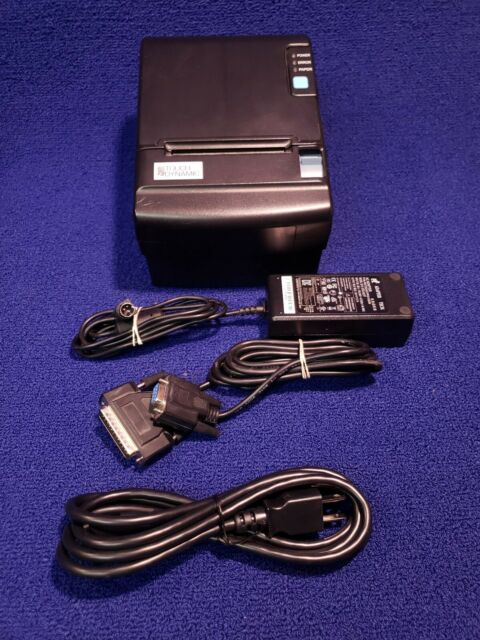 USB Serial cables Touch Dynamic LK-T210 Thermal Receipt Printer w// Power cords