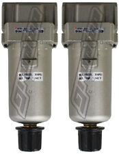 2 Pack Smc 14 Npt Water Traps 300 Psi Air Bag Suspension Ride Tank Compressor