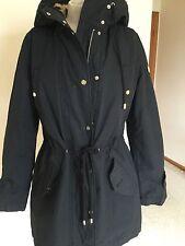 Women's Coat,Black,,M,( 42.,Fur Lining,Hooded,,Armani,NWT