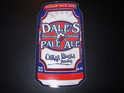 DEVIANT DALE/'S PALE ALE OSKAR BLUES BREWING BREWERY BEER STICKER Colorado Oscar